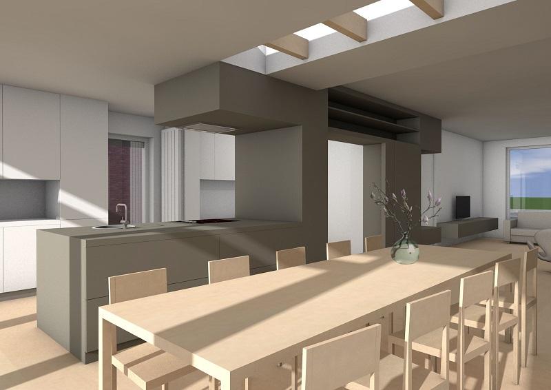 Nijmegen, verbouw en aanbouw woonhuis
